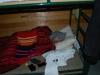 Nagyon mélyen és nagyon jókat lehet aludni a kényelmes és otthonos szálláson.