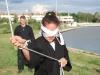 Harcművészeti és önvédelmi készségek fejlesztése bekötött szemmel