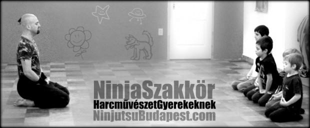 Ninjutsu Harcművészet oktatása Gyerekeknek