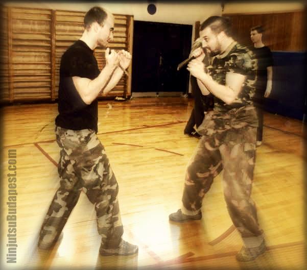 Privát ninjutsu önvédelem tréning