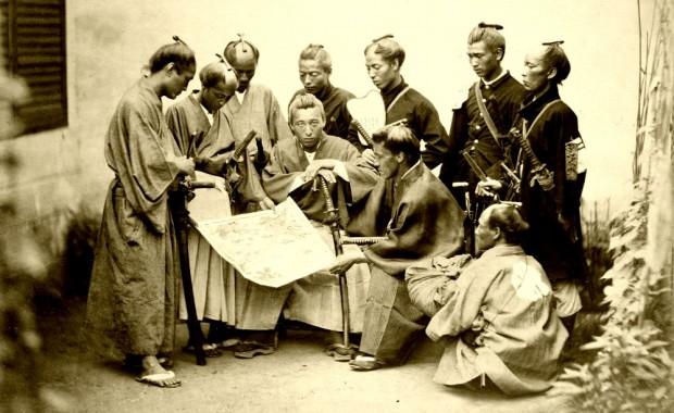 Szamurájok a Tokugava sógunátus idelyén