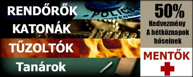 Ninjutsu Önvédelem 50% Kedvezmények Rendőröknek, katonáknak tűzoltóknak, Tanároknak Mentősöknek